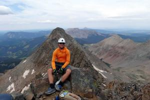 Steven on Mt. Wilson