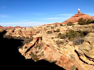 Some awesome slick rock and canyon formations.