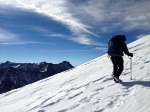 Snow.  Jenny.  Sangre De Cristo Mountains.  Colorado!