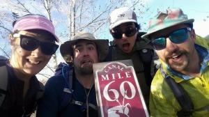 60 mile selfie