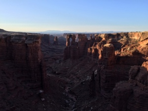 This is the inside of the canyon in the previous photo.  So beautiful!
