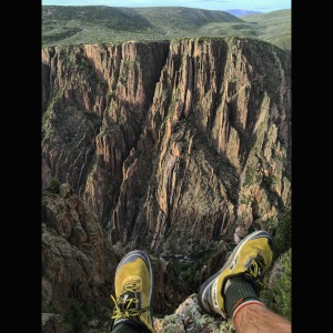 Just Hanging out at Black Canyon of the Gunnison