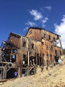 mining ruins near Animas Forks.