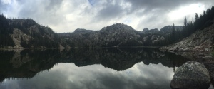 Reflections up high in the Beartooth Mountains