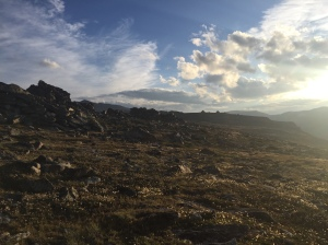 On a large Plateau over 11k feet in the beartooths