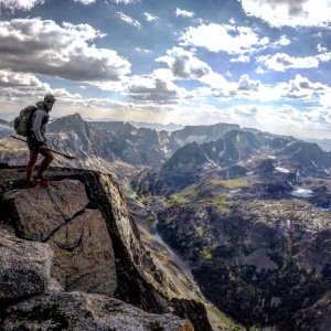 On top of Silver Run Mountain in the Beartooth Mountains of Southern Montana. Go here. Explore. Become a part of the mountains, even if just for a brief moment. It'll stay with you forever.