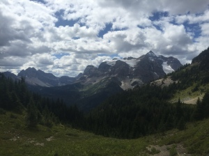 More mountains and beautiful Valleys on the Assiniboine Circuit