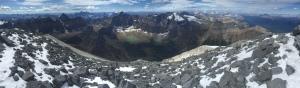On the way up Temple Peak.