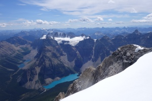 Moraine Lake from Mount Temple